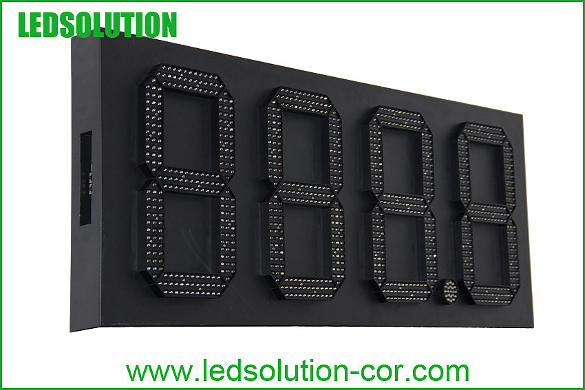 7 segment petro price led display