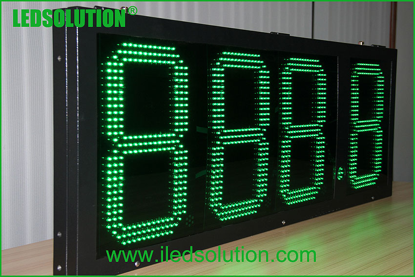 7 segment digital price display