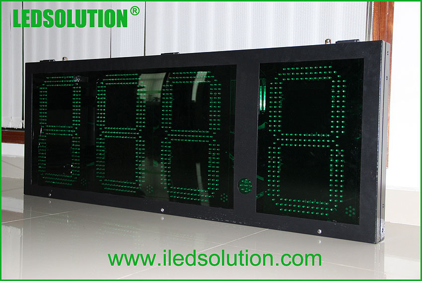 Gas price led display - 7 Segment