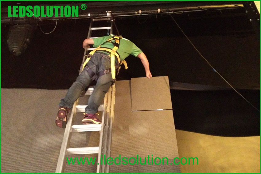 LEDSOLUTION installation service for led display