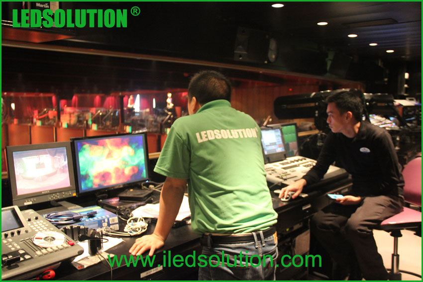LEDSOLUTION On-site service for led display