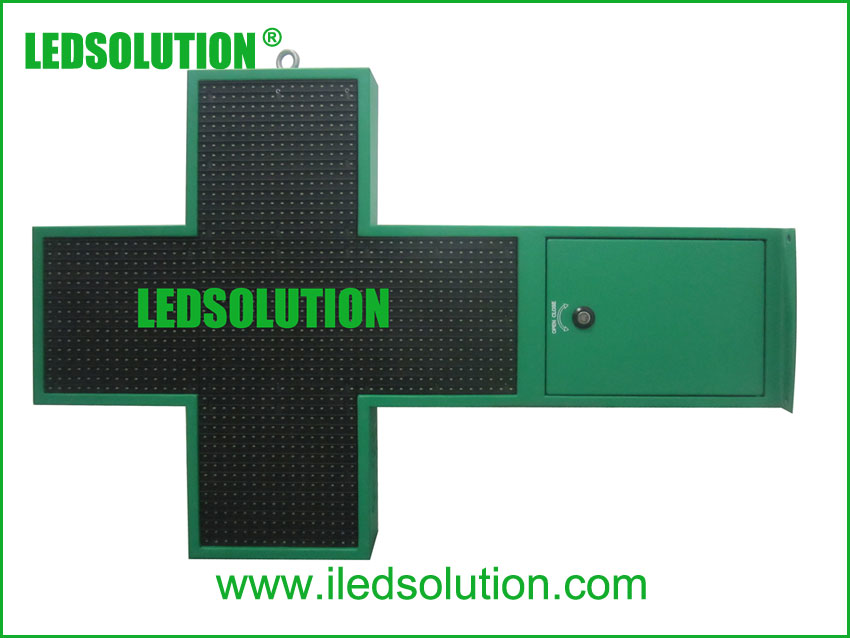 P12.5 LED Pharmacy Cross