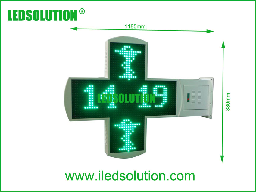 P16 LED Cross Size