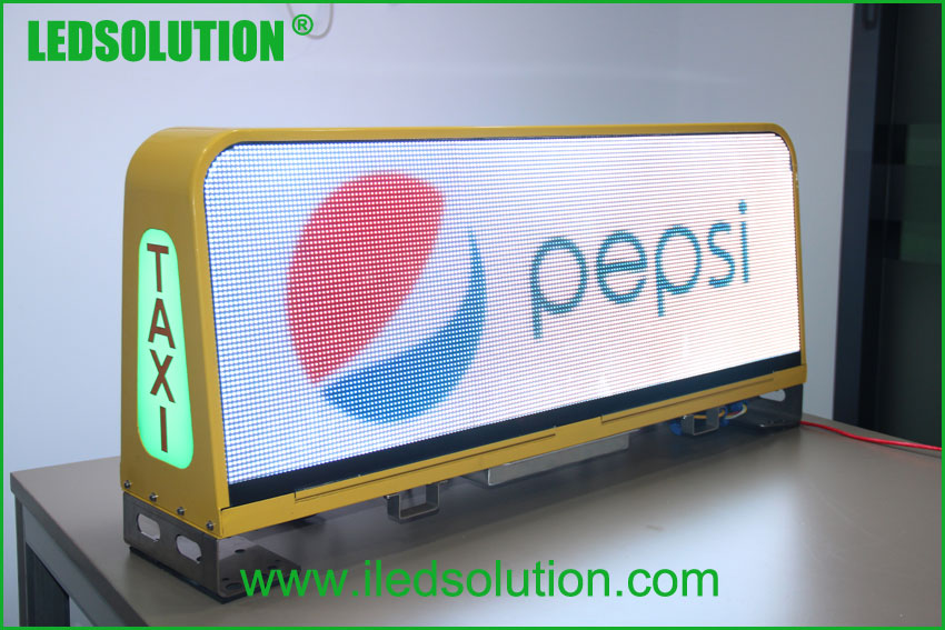 LED Taxi top advertising Sign (3)