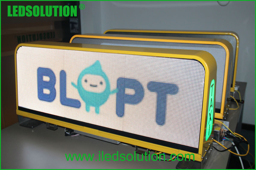 LED Taxi top advertising Sign (5)