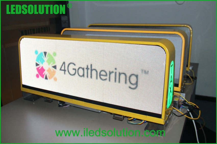 LED Taxi top advertising Sign (6)