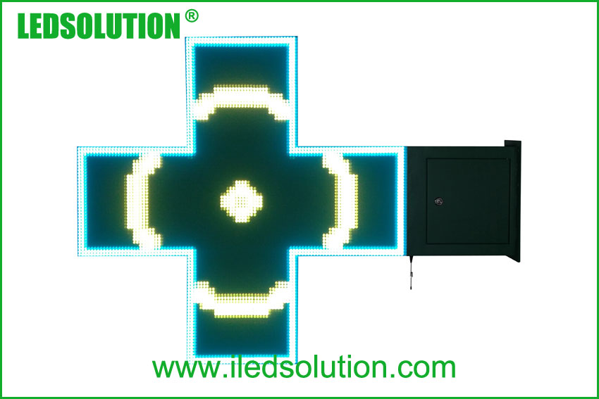 P8 LED Cross Sign