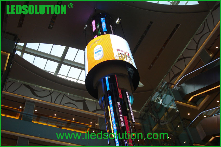 Curve LED Display