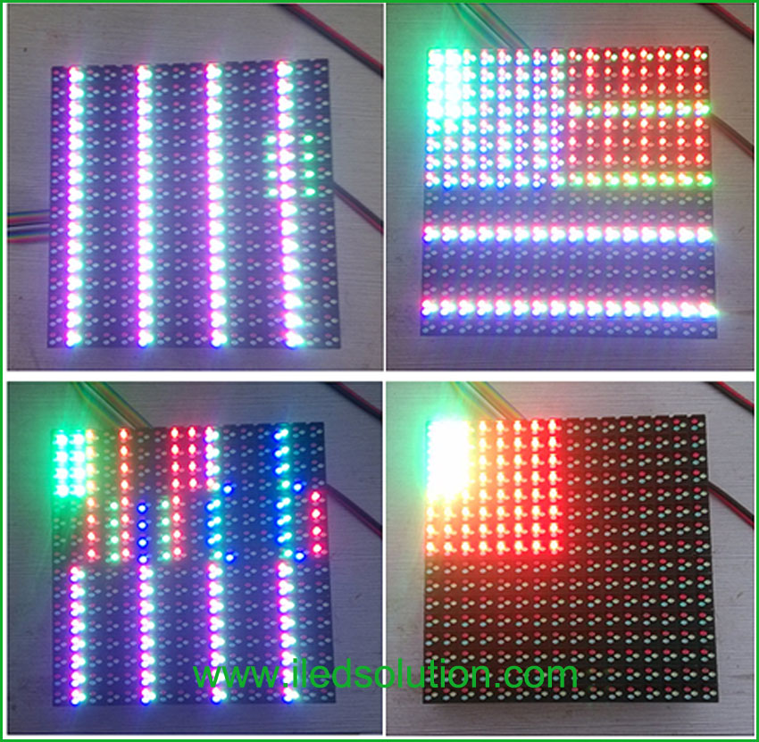 Trouble Shooting - Half of led module is normal but the rest half part is abnormal