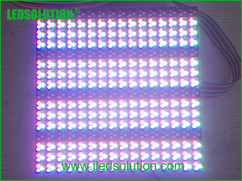 Trouble Shooting -One line of led lamps is dark before or after several bright lines