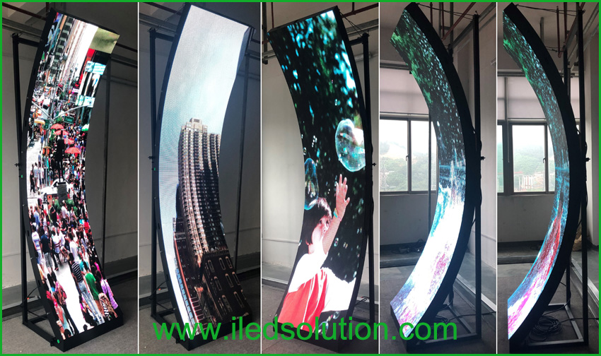 Curve led display pitch 4mm