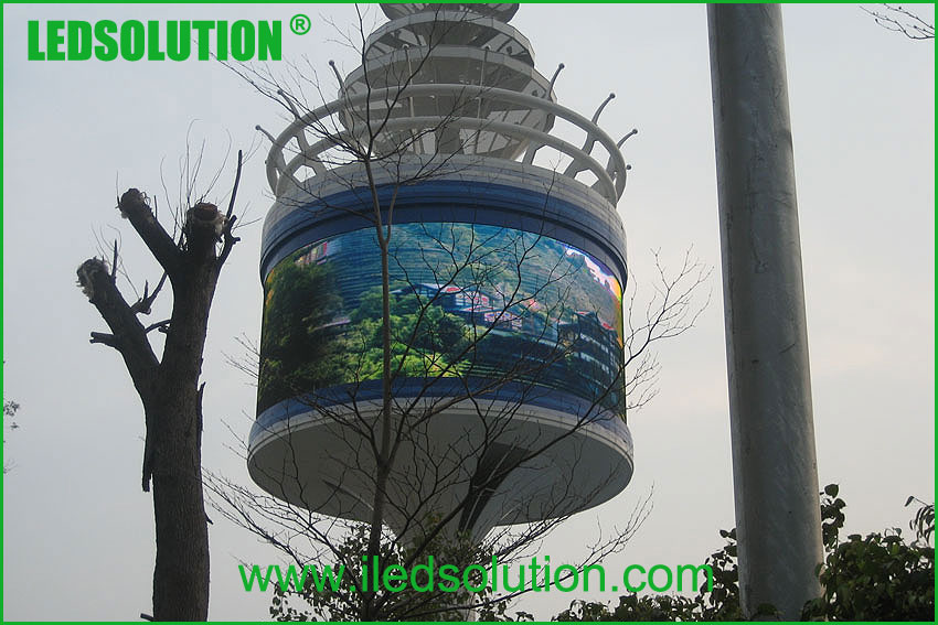 Cylinder LED Display