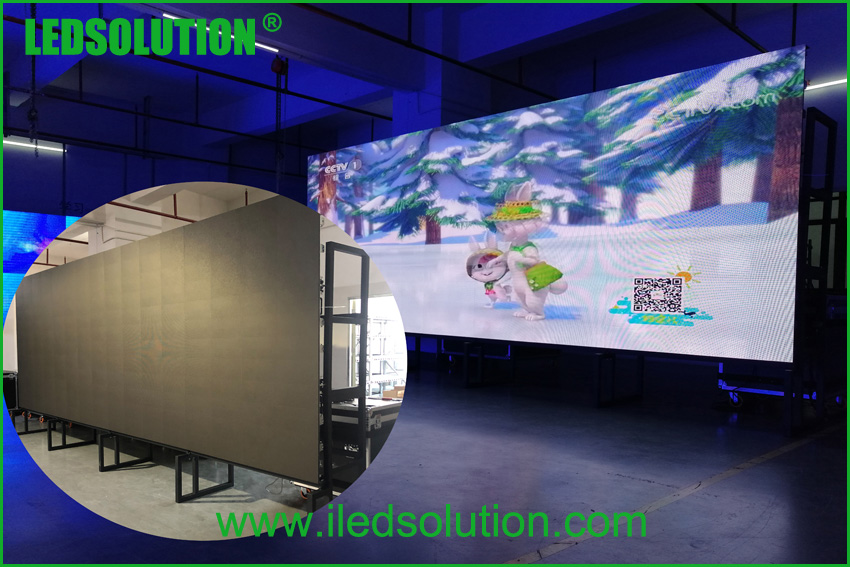 Ground Support Structure for Rental LED Display