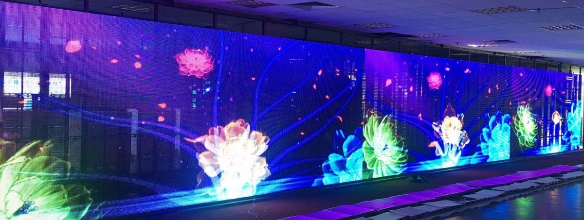 Transparent LED Display for glass wall (3)
