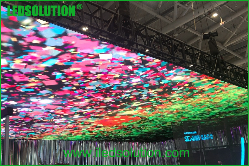 Ceiling LED Display Project Case