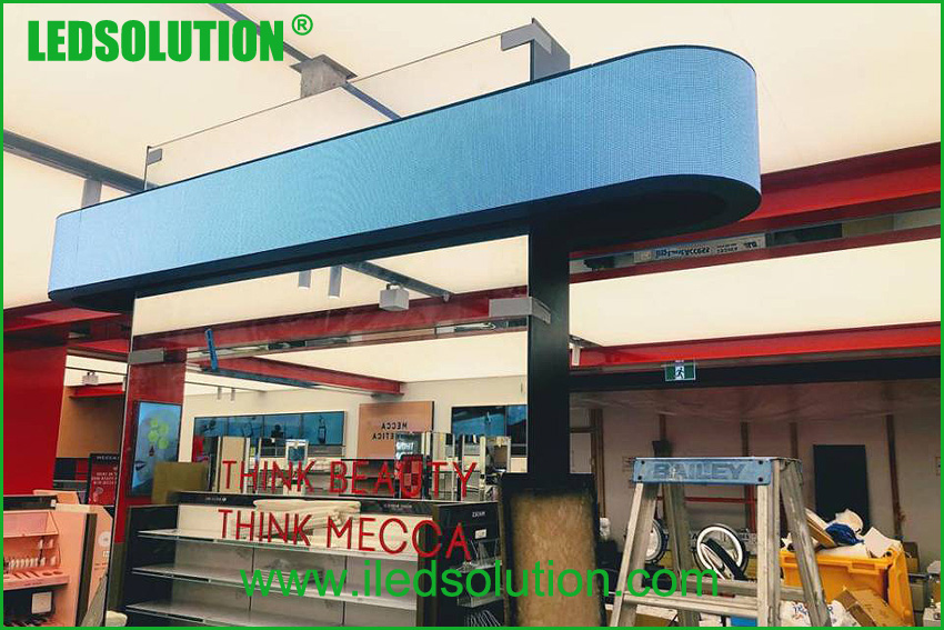 LED Ticker for retail stores
