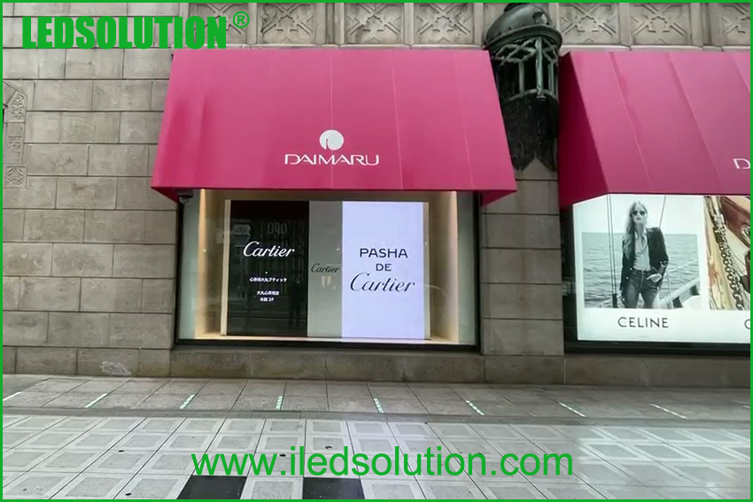 P1.5 led display for brand store