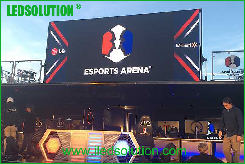 LEDSOLUTION Outdoor P3 LED Display project in Las Vegas (1)