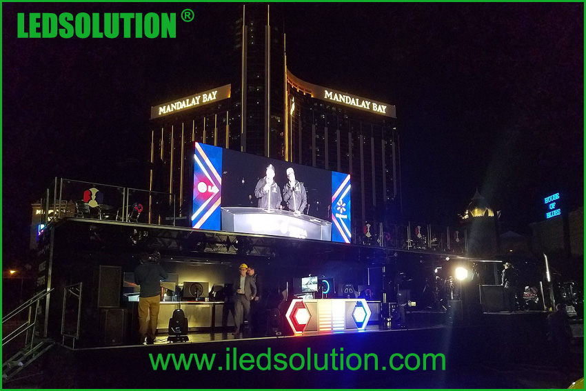 LEDSOLUTION Outdoor P3 LED Display project in Las Vegas (2)
