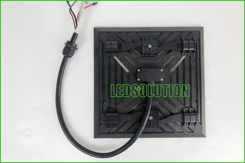 Outdoor P3.91 front service Corner LED Display Solution (6)