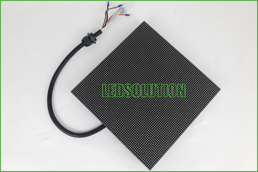 Outdoor P3.91 front service Corner LED Display Solution (7)