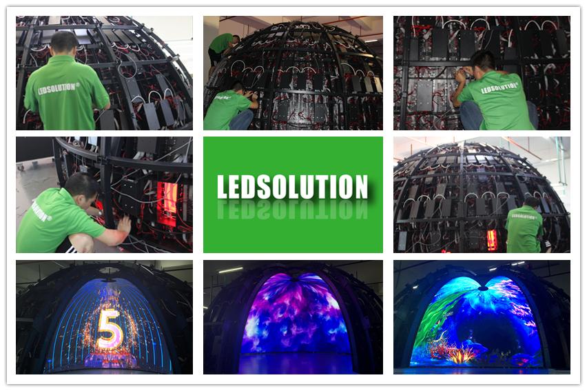 P1.8 LED Dome Display