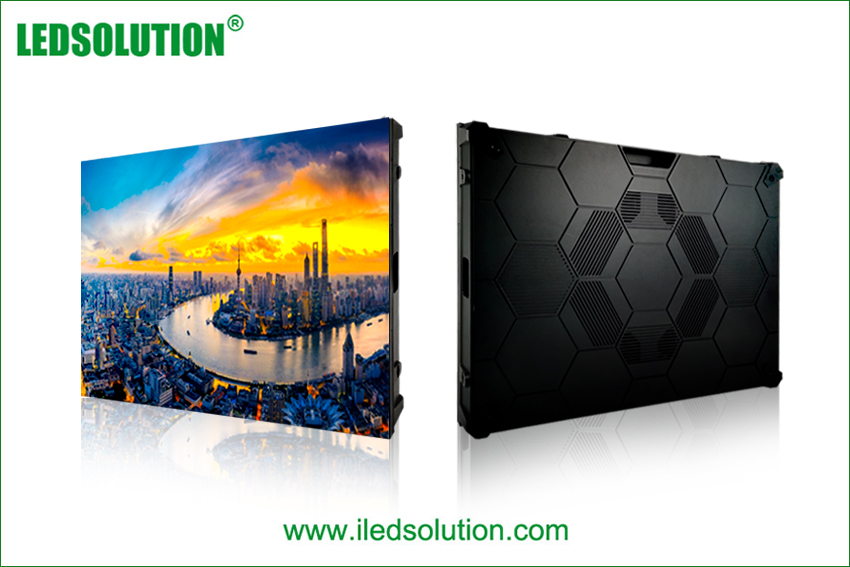 640*480mm indoor die-cast aluminum led display