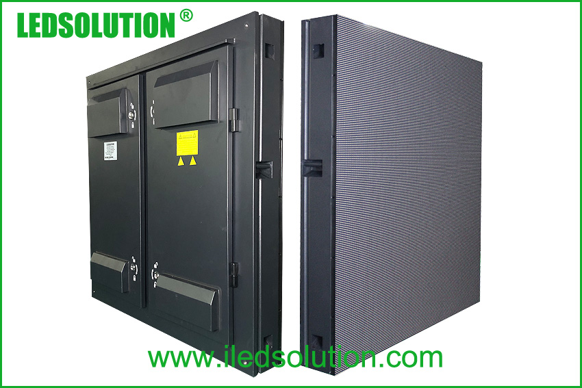 Outdoor 960X960MM IP65 LED Display Cabinet